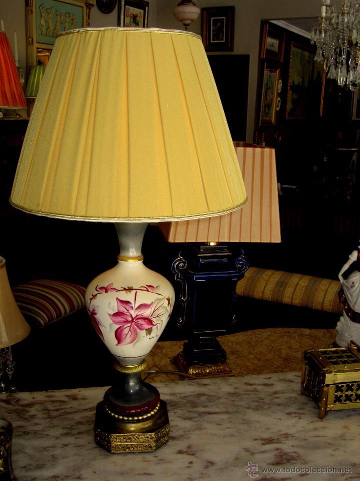 BELLA LAMPARA INGLESA (Antigüedades - Iluminación - Lámparas Antiguas)