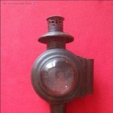 Antigüedades: ANTIGUO FAROL DE CARRO. Lote 50699159
