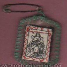 Antigüedades: ESCAPULARIO VARIEDAD - VIRGEN DEL CARMEN - POPULAR HECHO A MANO. Lote 50701919