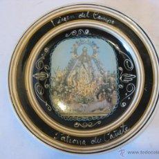 Antigüedades: PLATO DE CERÁMICA DE LA VIRGEN DEL CAMPO EN CAÑETE.. Lote 50703177