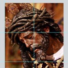 Antigüedades: PRECIOSO RETABLO 6 AZULEJOS 15X15 CTM DE JESÚS DEL GRAN PODER DE SEVILLA.. Lote 50714457