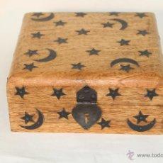 Antigüedades - caja joyero en madera - 50717248