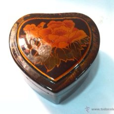 Antigüedades: BONITA CAJA LACADA. Lote 50717796