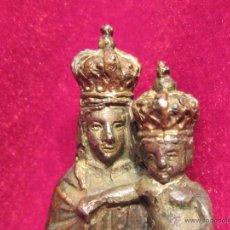 Antigüedades: VIRGEN DEL PILAR DE CALAMINA . Lote 50728257