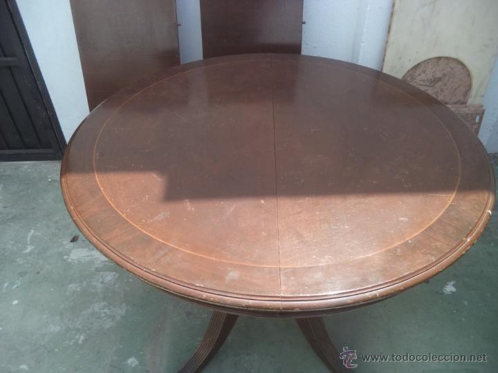 Antigüedades: mesa grande abatible - Foto 2 - 50728982