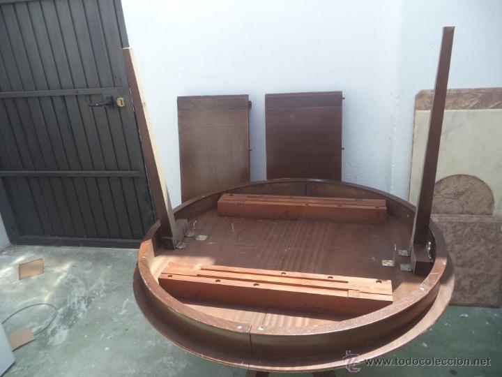 Antigüedades: mesa grande abatible - Foto 4 - 50728982