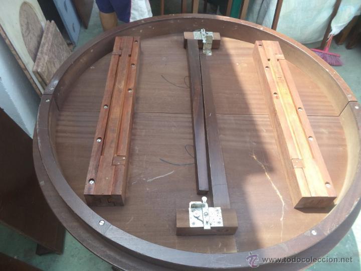 Antigüedades: mesa grande abatible - Foto 5 - 50728982