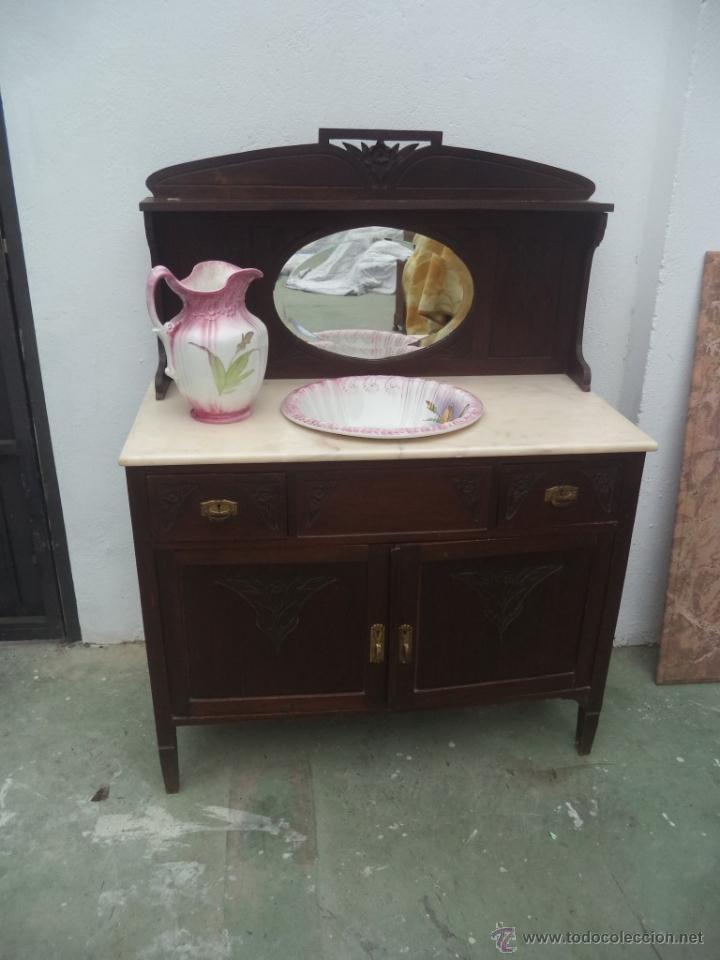 Mueble de ba o comprar aparadores antiguos en todocoleccion 50729662 - Muebles bano antiguos ...