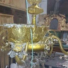 Antigüedades: LAMPARA DE TECHO DE CRISTAL MALLORQUIN (VER FOTOS) CAN GORDIOLA. Lote 50740802