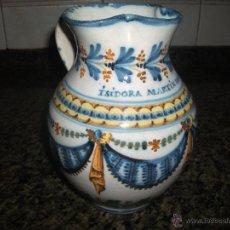 Antigüedades: JARRA POLICROMA DE TALAVERA S.XIX. Lote 50743196