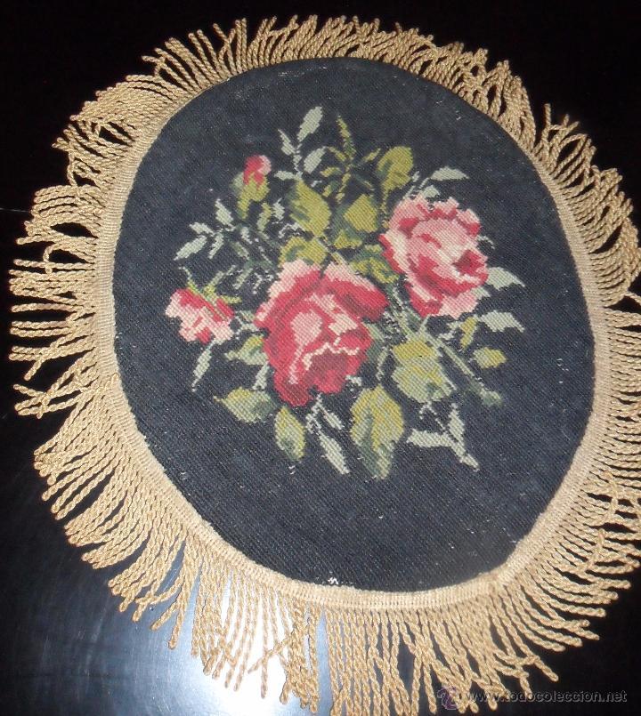 Antigüedades: Bordado siglo XIX - petit point - de colección - Foto 3 - 50759510