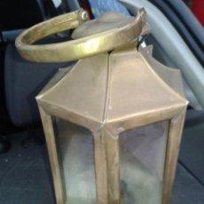Antigüedades: FAROL FAROLILLO QUINQUE CRISTAL BUEN ESTADO. Lote 50762128