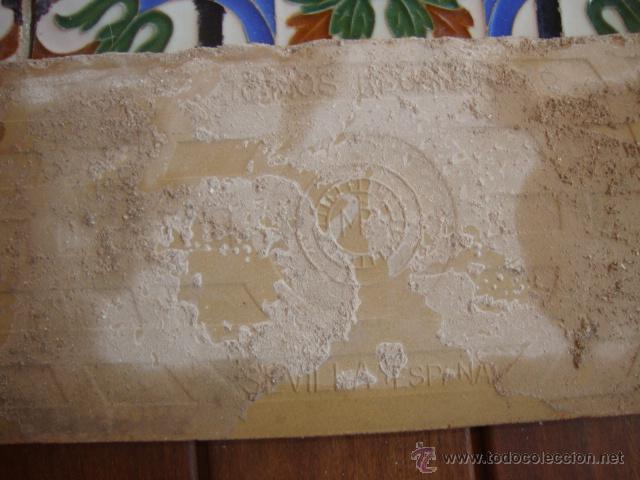 Antigüedades: Azulejos Ramos rejano (TRIANA) - Foto 4 - 50770915
