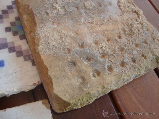 Antigüedades: Lote azulejos antiguos (siglo XVIII) - Foto 3 - 50771082