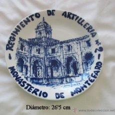 Antigüedades: PLATO CASTRO SARGADELOS FIRMADO PINTOR FREIRE FERROL 118/500. Lote 50781292