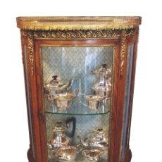 Antigüedades: VITRINA DE CAOBA EPOCA 1900. Lote 50786066
