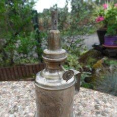 Antigüedades: LAMPARA ANTIGUA TIPO QUINQUE MARCA FRANCESA LES HIRONDELLES. Lote 50794430