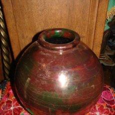 Antigüedades: CERAMICA CON REFLEJOS METALICOS DE RAMOS REJANO TRIANA.. Lote 50795962