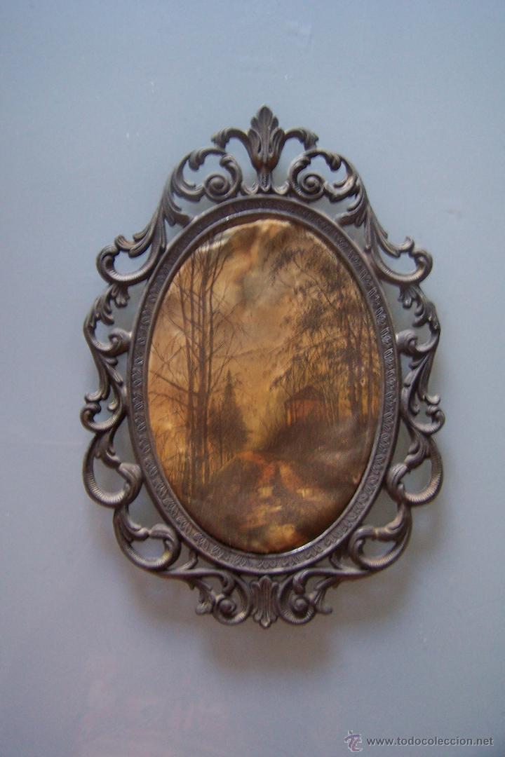 marco de metal antiguo italiano para colgar - Comprar Marcos ...