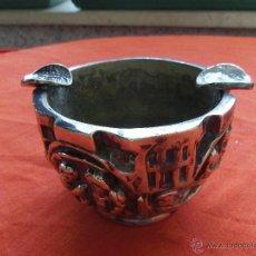 Antigüedades: CENICERO DE BRONCE . Lote 50824324