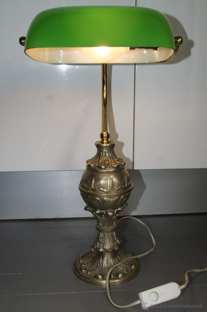 Antigua y unica lampara exclusiva despacho mode comprar for Lamparas de mesa clasicas