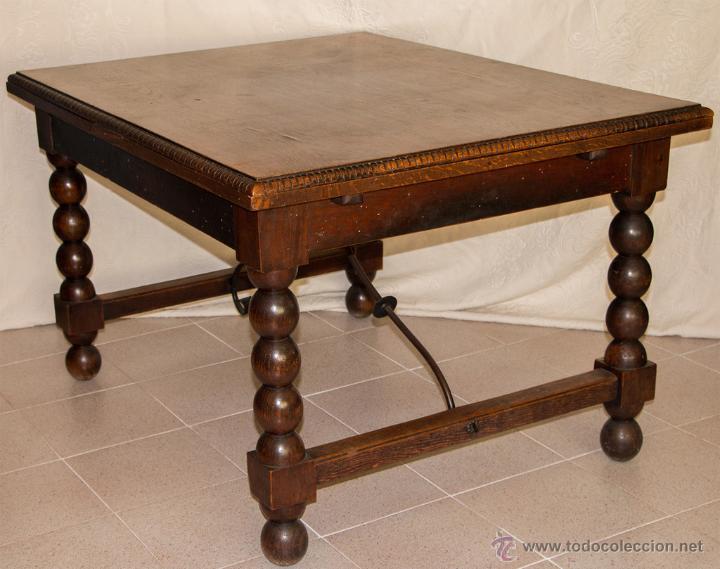 conjunto comedor mesa y 5 sillas - Comprar Mesas Antiguas en ...