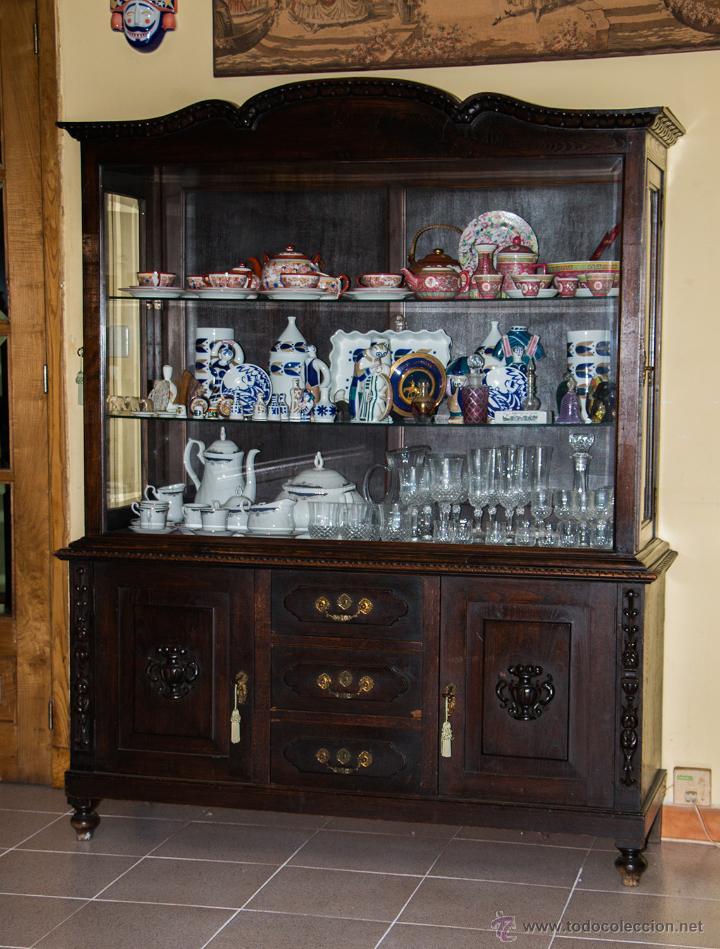 aparador y vitrina de comedor - Comprar Aparadores Antiguos en ...