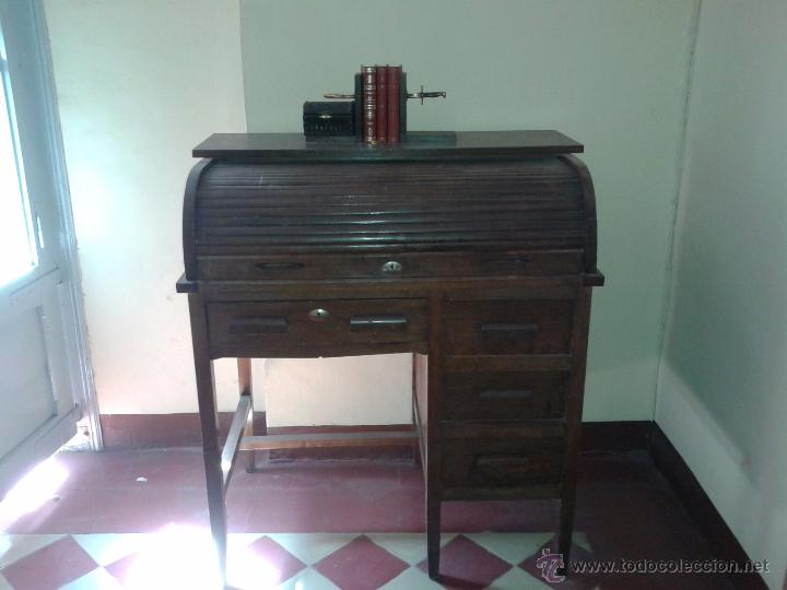 Antiguo escritorio estilo bureau americano a comprar