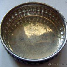 Antigüedades: VIEJO CUENCO EN ALPACA. Lote 50949288