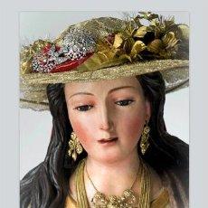 Antigüedades: PRECIOSA CERAMICA 20X30 DE LA PASTORA DE CANTILLANA. Lote 50949523