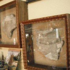 Antigüedades: PAREJA DE FRAGMENTOS DE TINAJAS ARABES. Lote 50964687