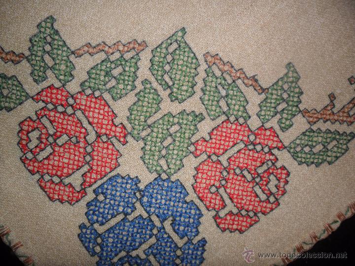Antigüedades: Antiguo mantel bordado - Foto 7 - 50968037