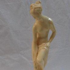 Antigüedades: FIGURA ESCULTURA GRIEGA - MARCA PEGASAM ( CINTRUENIGO ) REF 35. Lote 50974596