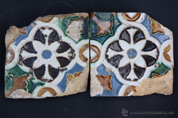 AZULEJOS DE TRIANA (SEVILLA) DEL S. XVI (Antigüedades - Porcelanas y Cerámicas - Triana)