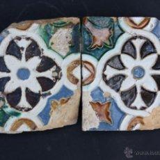 Antigüedades: AZULEJOS DE TRIANA (SEVILLA) DEL S. XVI. Lote 50975314