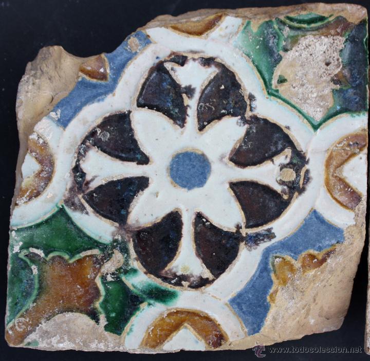 Antigüedades: Azulejos de Triana (Sevilla) del s. XVI - Foto 3 - 50975314