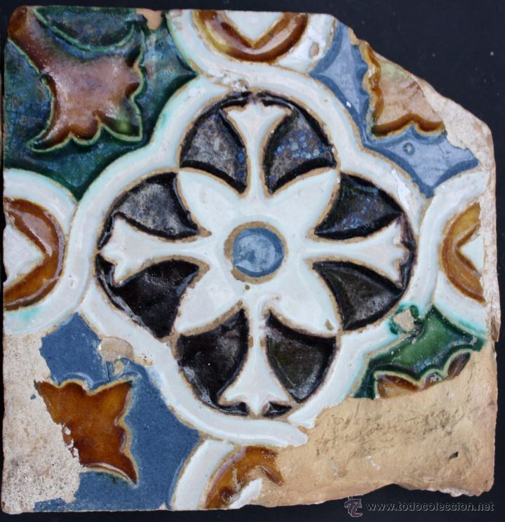 Antigüedades: Azulejos de Triana (Sevilla) del s. XVI - Foto 4 - 50975314