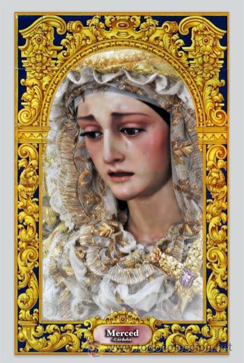 Azulejo 20x30 de la virgen de la merced de cord comprar - Persianas lavirgen cordoba ...