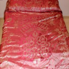 Antigüedades: COLCHA ANTIGUA TIPO SEDALINA CHINESCA. Lote 50980129