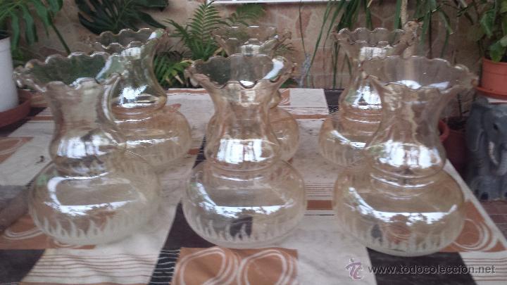 Juego de 6 tulipas de cristal para lamparas comprar - Tulipas de lamparas ...