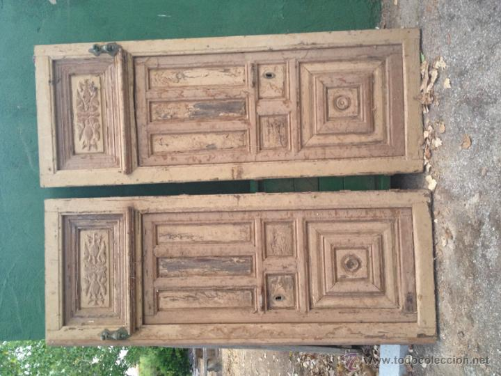 Magnifica puerta doble de entrada de una casa s comprar for Doble puerta entrada casa