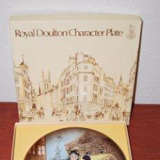 Antigüedades: PLATO DE PORCELANA ROYAL DOULTON - GLOBERA - THE OLD BALLOON SELLER - WILLIAM K. HARPER - 1979. Lote 50988049