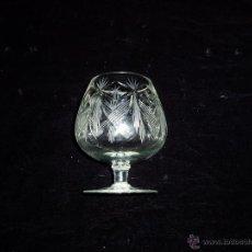 Antigüedades: INSUPERABLE COPA DE BRANDY CRISTAL CHECO. Lote 51000008