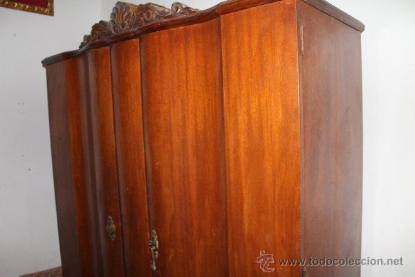 Armario ropero antiguo comprar armarios antiguos en - Armario antiguo segunda mano ...