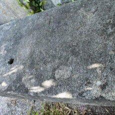 Antigüedades: MESA DE GRANITO RECTANGULAR PARA JARDÍN. EXTERIOR.. Lote 51003377