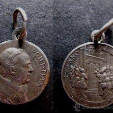 Antigüedades: MEDALLA RELIGIOSA ANTIGUA PAPA PIO XI AÑO JUBILAR 1925 PIUS. Lote 51003708