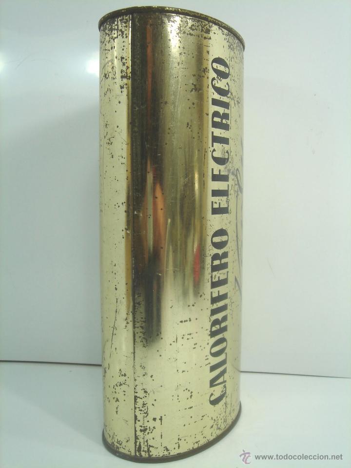 Antigüedades: ANTIGUO CALENTADOR ELECTRICO - CALORIFERO KARLY - CALIENTA CAMAS - METALICO - CALIENTACAMAS AÑOS 70 - Foto 2 - 51006936