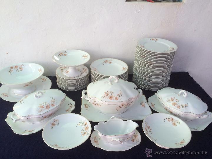 Vajilla antigua en porcelana de limoges siglo x comprar for Vajilla porcelana