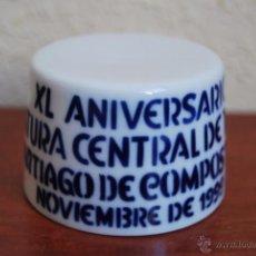 Antigüedades: FIGURA DE SARGADELOS - PEANA - XL ANIVERSARIO JEFATURA CENTRAL TRÁFICO SANTIAGO DE COMPOSTELA - 1999. Lote 51018279