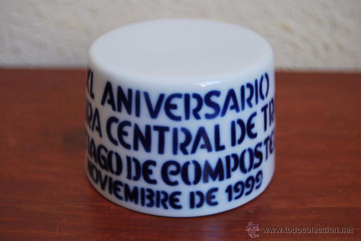 Antigüedades: FIGURA DE SARGADELOS - PEANA - XL ANIVERSARIO JEFATURA CENTRAL TRÁFICO SANTIAGO DE COMPOSTELA - 1999 - Foto 2 - 51018279